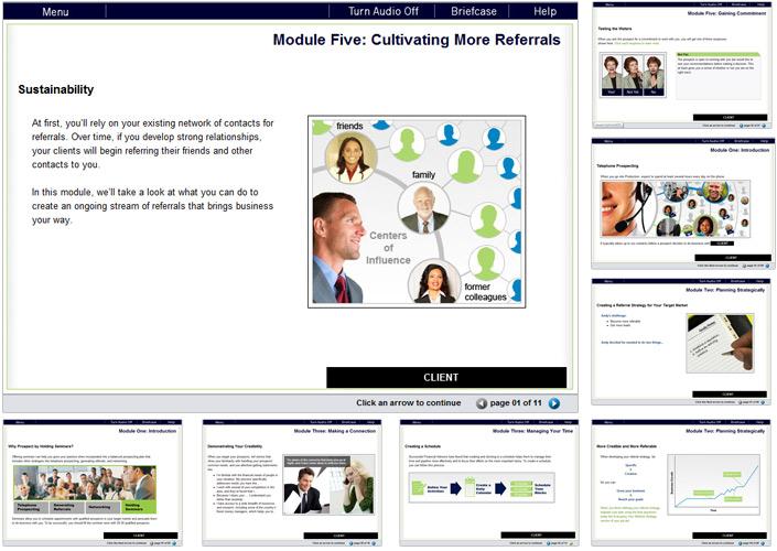 Courseware Series Design | Content Pages
