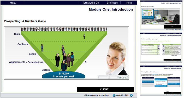 Courseware Series Design | Interactive & Practice Pages