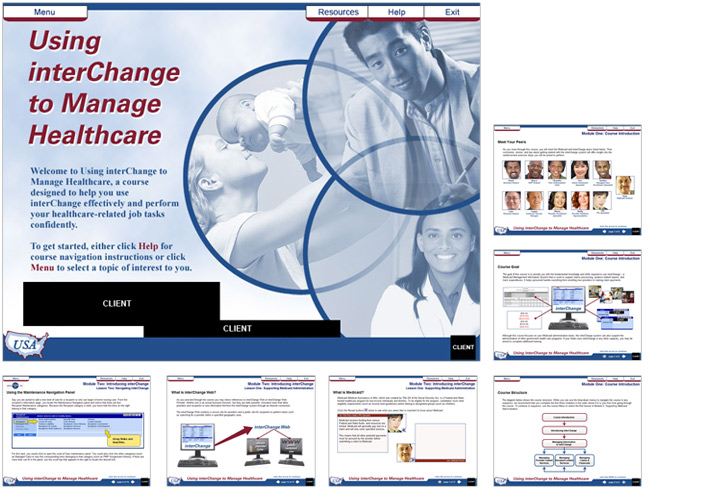 Courseware Design | Cover & Content Pages