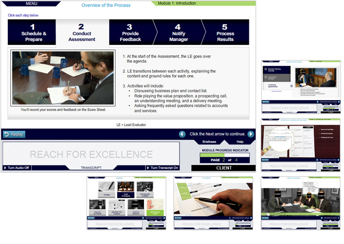 Courseware Series Design | Content & Interactive Pages