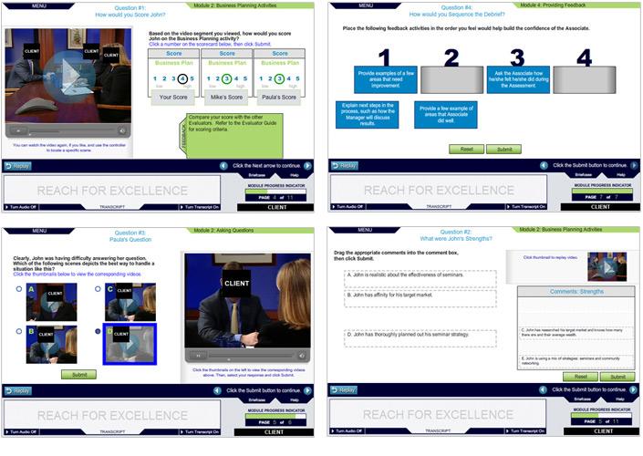 Courseware Series Design | Practice Pages